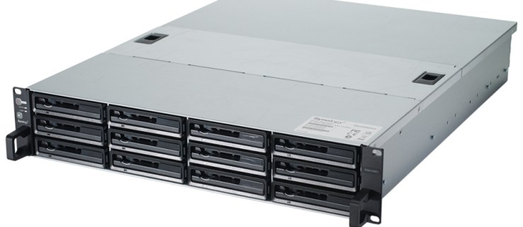 Synology RackStation RS2414RP+ - front