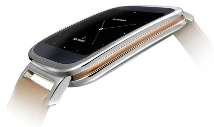 Asus ZenWatch - from the side