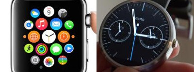 Apple Watch vs Moto 360 Comparison