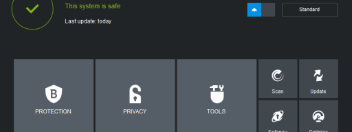 BitDefender Internet Security 2015 review - main UI