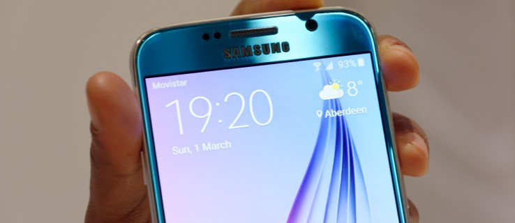 Samsung Galaxy S6 review - blue front