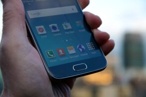 Samsung Galaxy S6 - home button