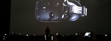 HTC Vive VR Headset with Valve MWC 2015