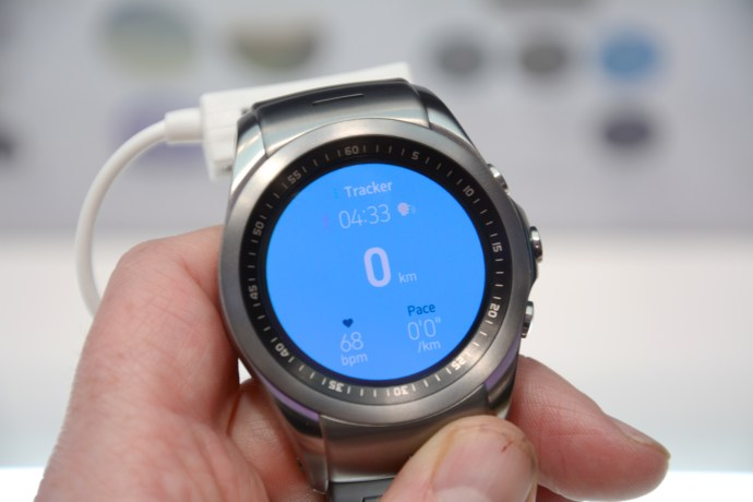LG Watch Urbane LTE - fitness app