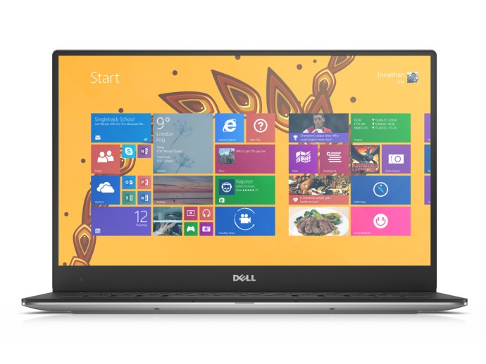 Dell XPS 13 (2015) review - from front