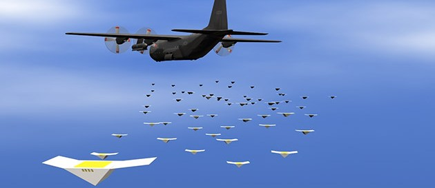 Swarm of spy drones can eavesdrop on enemy troops