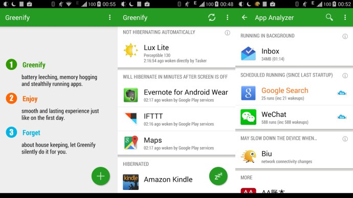 Best android Apps 2015 - Greenify