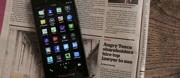 BlackBerry Leap review: A new phone with old internals