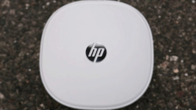 HP Pavilion Mini: Top down view