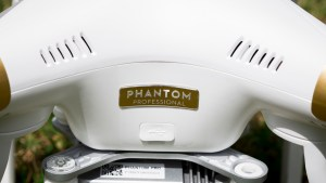 DJI Phantom 3 Professional review: Apart from the gold badge, the Phantom 3 looks much the same as its predecessor