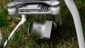 DJI Phantom 3 Professional review: The Phantom's motorised gimbal keeps the camera steady while you're flying