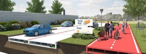 PlasticRoad could be the future of city streets