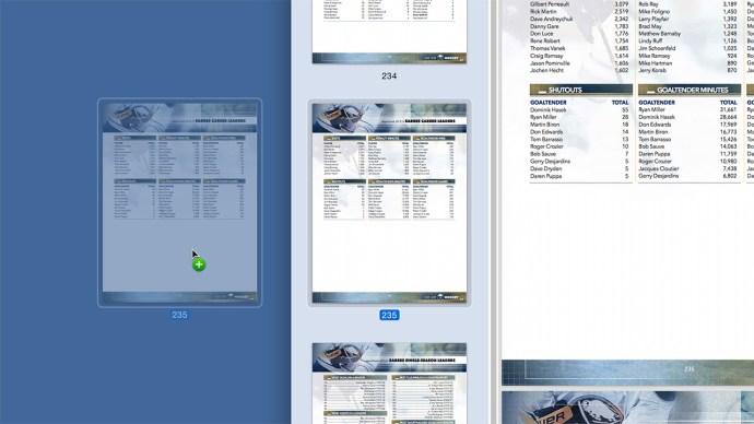 dra sida pdf förhandsgranskning Mac OS X