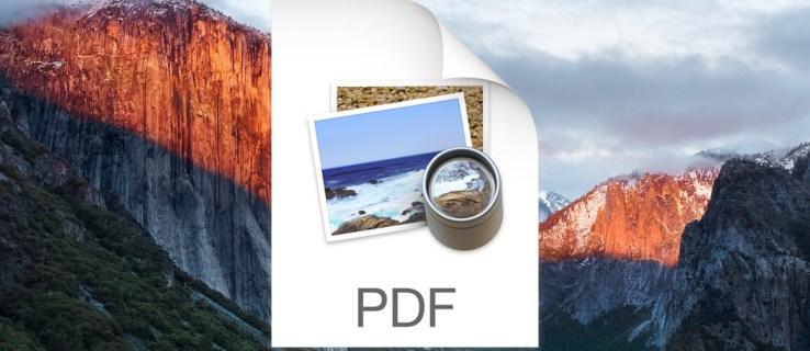 Hur extraherar du sidor från ett PDF-dokument i förhandsgranskning av Mac OS X.