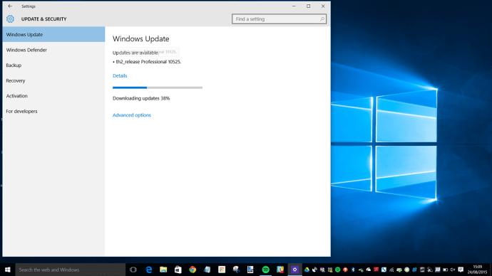 windows updating