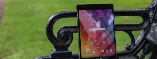 Asus ZenPad 8.0 review: Main shot, front