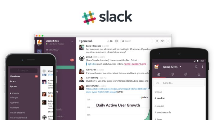 Six Killer apps for business - Slack