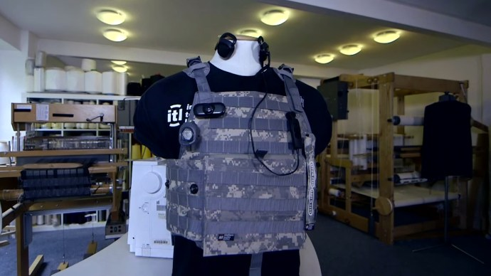 Intelligent Textiles and smart materials - Prototype military vest