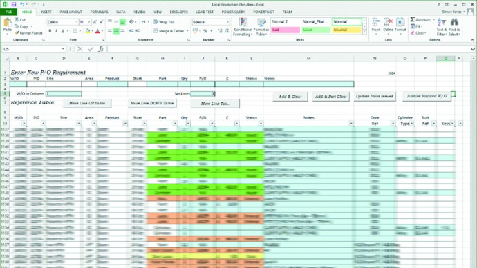 solving Spreadsheet problems with databases - Speed issues