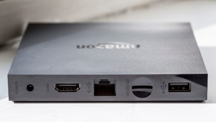 Amazon Fire TV review: The Fire TV has HDMI output, but the optical S/PDIF output has been dropped