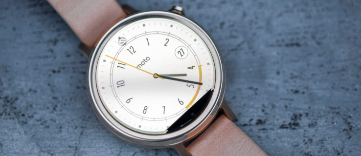 Motorola Moto 360 2 review: The most attractive Android Wear smartwatch