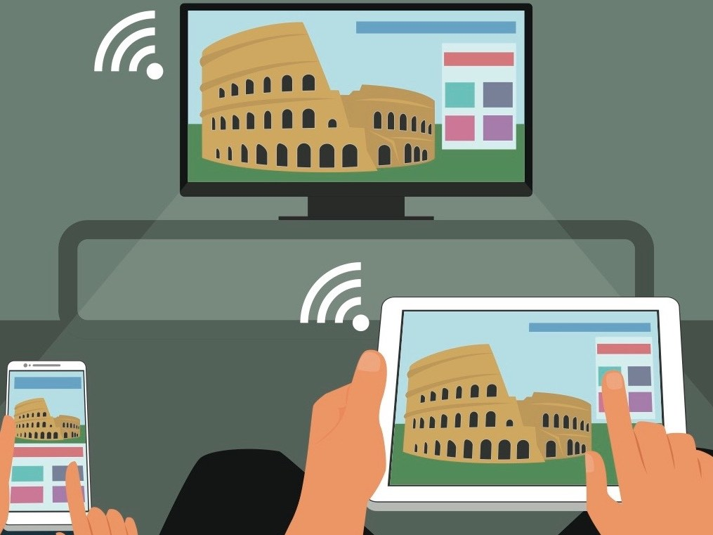Screen Mirroring A Phone Ipad Or Laptop To Tv How To Push Your Phone To The Big Screen