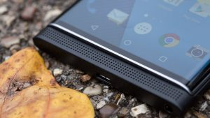 BlackBerry Priv review: Front-facing speaker