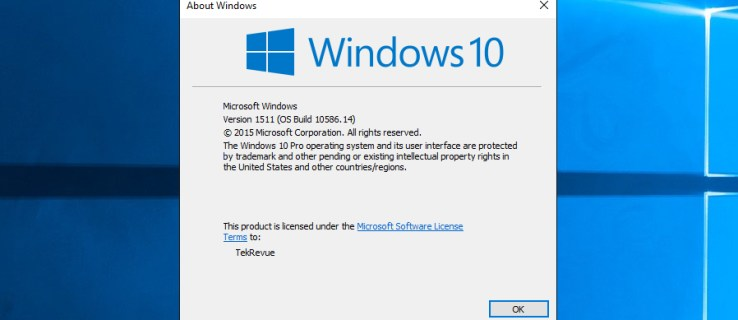 Quick Tip: How to Find Your Windows 10 Build Number