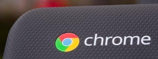 Acer Chromebook 15 review: Chrome logo