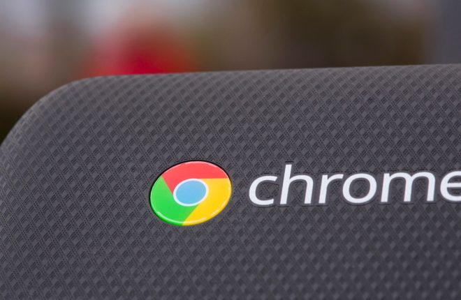 Acer Chromebook 15 review: Chrome logo