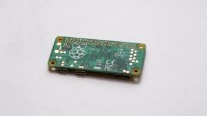 Raspberry Pi Zero underside