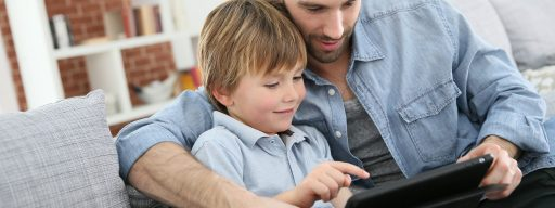 bigstock-father-with-little-boy-using-d-81284447
