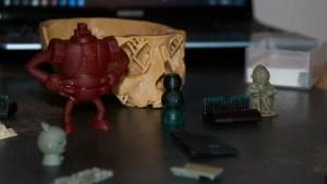 imaker_3d_printer_showcase_-_led_printer_-_resin_objects