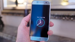 Samsung Galaxy S7 review: Always-on screen