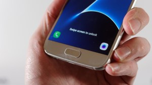 Samsung Galaxy S7 review: Front, bottom half