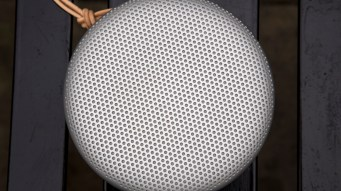 B&O Play Beoplay A1 from above, closeup