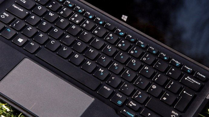 Dell XPS 12 keyboard and touchpad