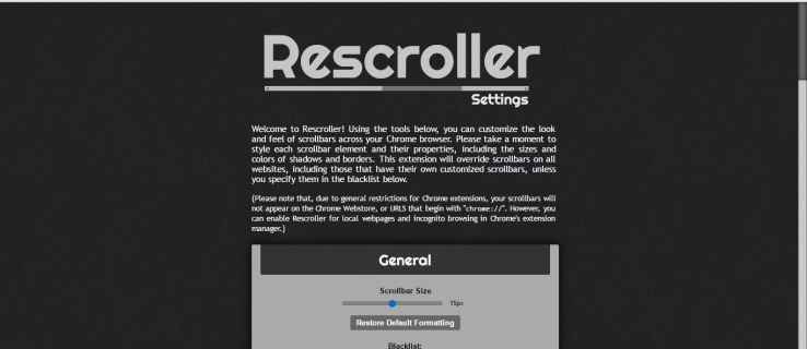 How to Customize Google Chrome's Scrollbar