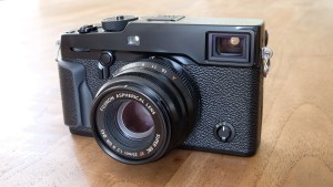 Fujifilm XPro-2 from front
