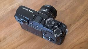 Fujifilm XPro-2 top controls