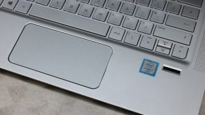 HP Envy 13 touchpad