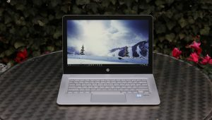 HP Envy 13 on table
