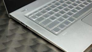 HP Envy 13 speakers and backlit keyboard