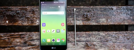 LG Stylus 2 with stylus
