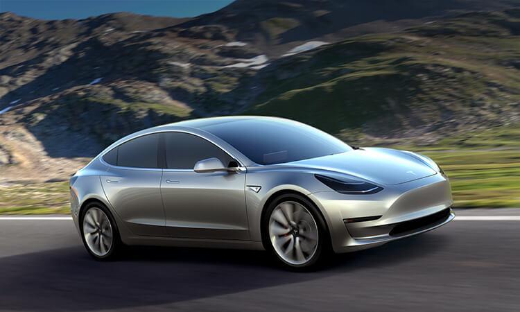 Tesla Model 3 Finally Makes It To Uk Showrooms