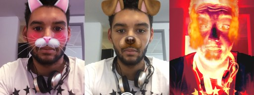 How to use the new Snapchat lenses and faces