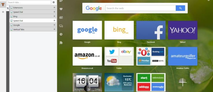 How to add Vertical Tab Bars to Opera