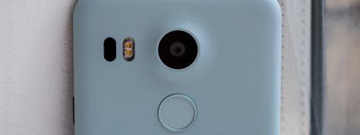 Google Nexus 5X: Rear