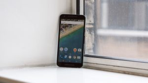 Google Nexus 5: Whole front