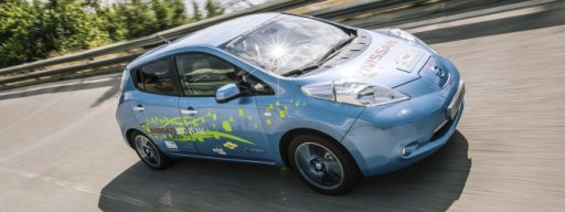 This racing Nissan Leaf is a glimpse into the future